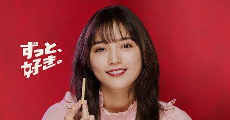 川口春奈さんの髪色がかわいい!前髪の流し方や髪色の変化